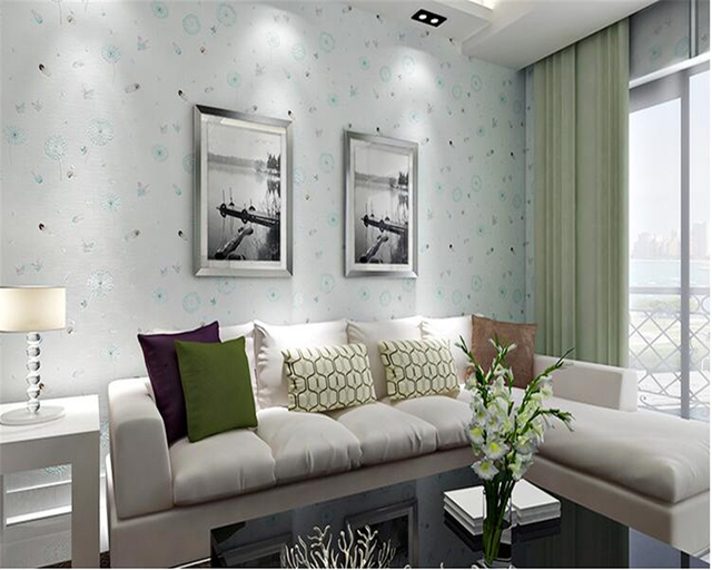 background living bedroom children beibehang fashionable personality butterfly wallpapers zoom mouse