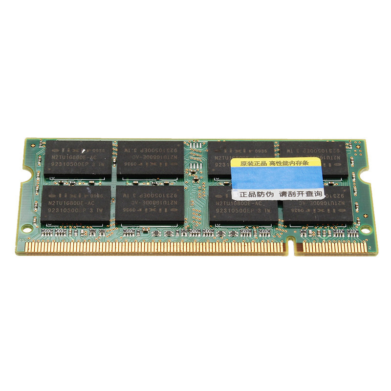 2GB DDR2 Ram 800MHz PC2-6400 SDRAM Laptop Memory Ram 1.8V 200-Pin SODIMM Non-ECC CL5 Laptop Notebook Memory Ram