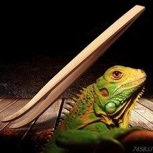 Длинный Супер рептилий деревянный пинцет зажимы 28 см и 16,5 см размер лягушка паук инструмент для подстилки террариума очистки и кормления Z03