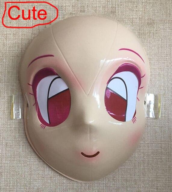 Baru Jepang Idol Drama Shikomusk Masker Wajah Lucu Indah Cukup Lolita Gadis Untuk Halloween Topeng Tari