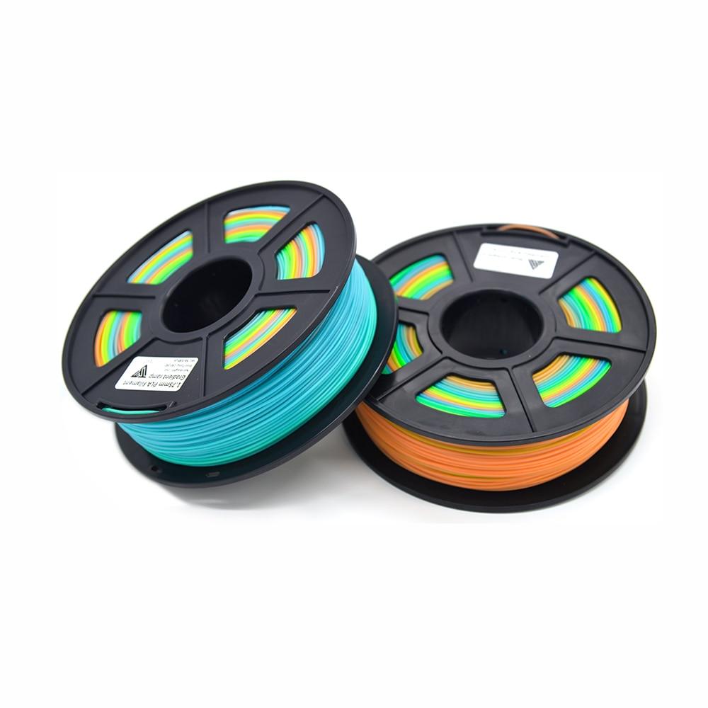 3D Printer Filament PLA 1.75mm 1KG Plastic Rubber Consumables Material 3D filamento Multi-colors PLA Filament for 3D filamento