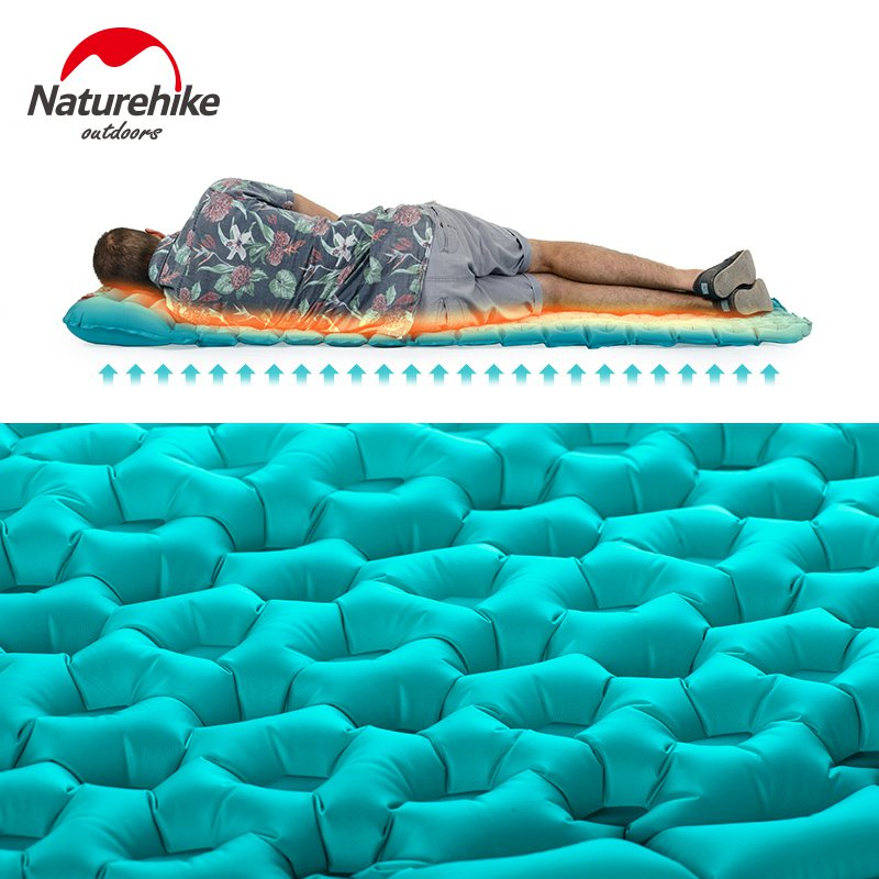 Naturehike C&ing Sleeping Pad with Pillow Tent Mat Outdoor Mattress for Envelope Sleeping Bag-in C&ing Mat from Sports u0026 Entertainment on Aliexpress.com ...  sc 1 st  AliExpress.com : tent mattress pad - memphite.com