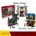 Горячие Строительные Блоки Лепин Гарри Поттер стиль 16012 Обучающие Игрушки Для Детей Лучший подарок на день рождения Декомпрессии игрушки