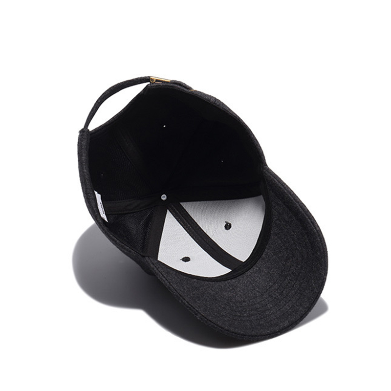 12b57327165 FLB  Autumn And Winter Baseball Cap Cotton warm Sports Solid hats ...