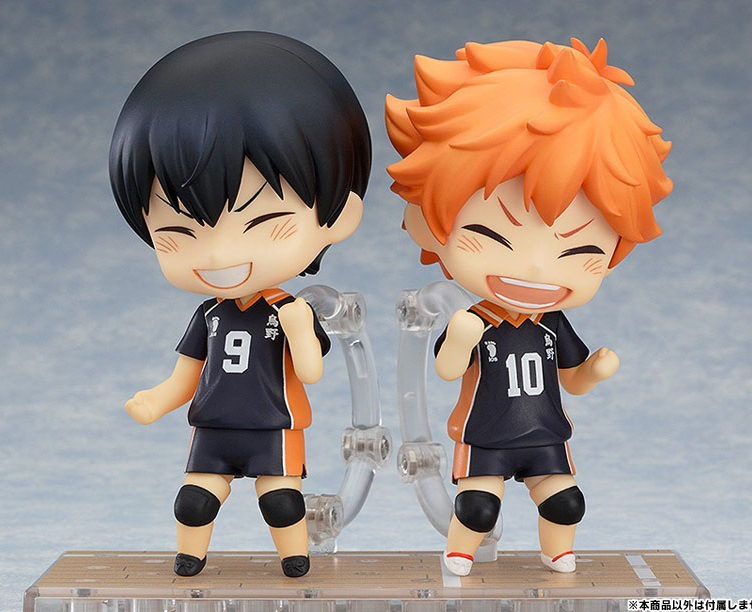 Anime Cartoon Haikyuu!! Hinata Syouyou Shoyo kageyama Tobio 489 461 Q Nendoroid 10CM Model Action Figures Pvc Rinquedo селедочница queens crown узор 20 х 9 см