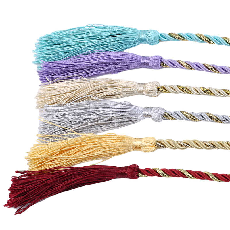 New Curtain Tiebacks Tassels Tieback Curtain Cord Home Textiles Window Treatments Home Decoration Accessories