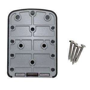 Image 2 - Ящик для хранения скрытых ключей, настенный Сейф для дома и офиса, мастер замок