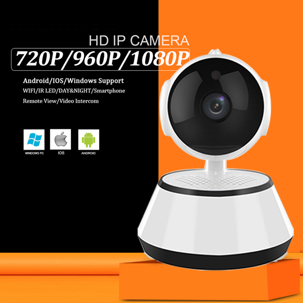 Home Security 720P IP Camera Video Surveillance Two Way Audio Mini Camera Wireless Night Vision CCTV Camera WiFi Baby Monitor hot 720p hd clever dog network wireless mini ip camera security video surveillance wifi baby monitor two way audio support card