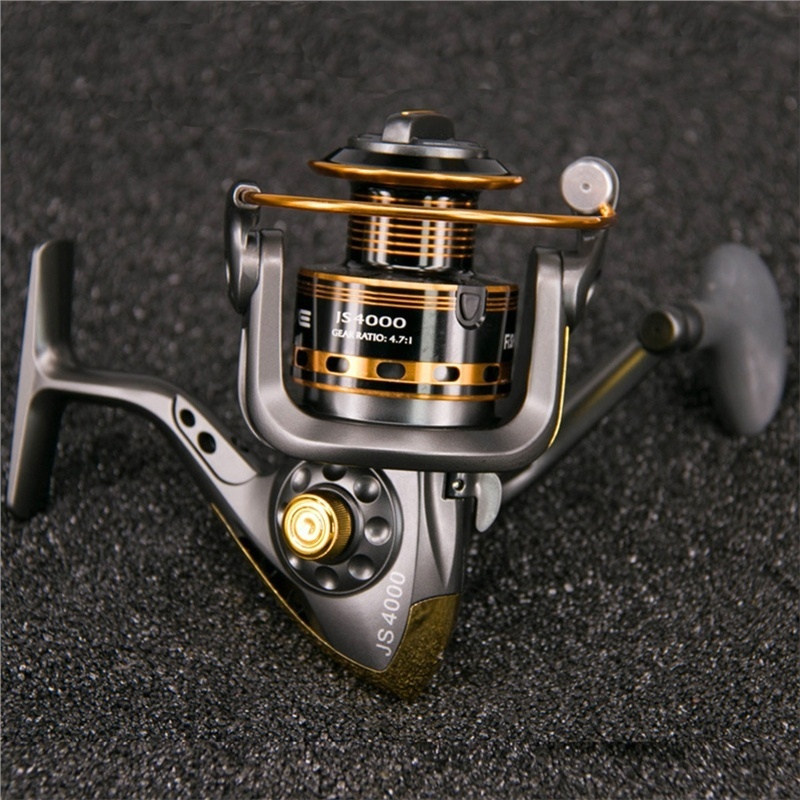 1000 To 6000 Series Spinning Fishing Mental Reels 10bb For Freshwater Saltwater Spinning Reel Carp Fishing
