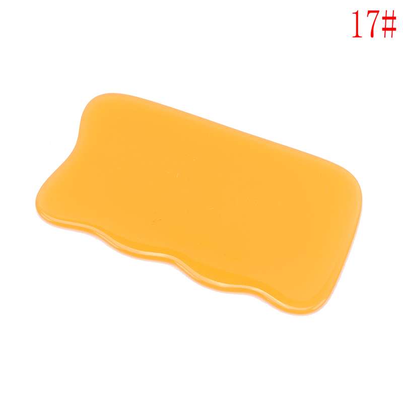 Beeswax Scrape Therapy blood circulate Natural resin Chinese Acupuncture Scraping tool back Massage Body massager Gua Sha Board in Massage Relaxation from Beauty Health