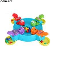 OCDAY Eltern-kind-interaktion Spielzeug Fütterung Frosch Swallow Perlen Tabelle Spiel Hungrig Frösche Pädagogisches Spielzeug Geschenk Für Kinder Kinder