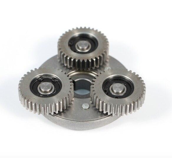 Engrenage en acier sans brosse de moteur en métal de véhicule électrique 36 engrenage de dentition 608 portant l'ensemble d'embrayage à sens unique