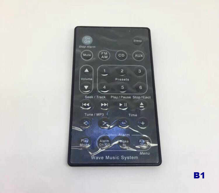 New Replacement Remote Control Fit For Bose Soundtouch Wave Music Radio Radio/CD System I II III IV 5 CD Multi Disc Player