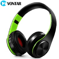 Bass Over Ear Headsets Wireless Headphone Bluetooth 4 0 Folding With Mic Support TF Card FM