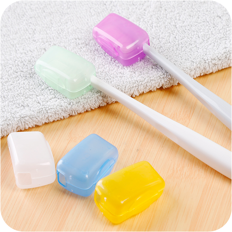 Head-Cover-Organizer Storage-Box-Set Toothbrush Outdoor Portable Of Protection-Sleeve