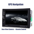 7021G 7 inch 2 Din Car Video Player DVD MP4 MP5 Player 2Din Bluetooth 1080P GPS Navigation FM Radio Rear Camera Remote Control