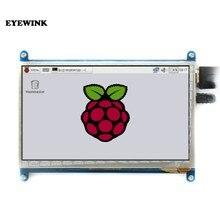 7 cal 800*480 IPS pojemnościowy Panel dotykowy moduł TFT LCD ekran dla Raspberry Pi 3 B +