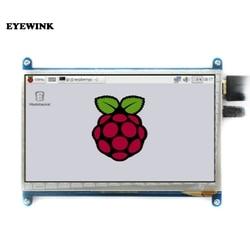7 polegada 800*480 ips painel de toque capacitivo tft lcd módulo tela display para raspberry pi 3 b +