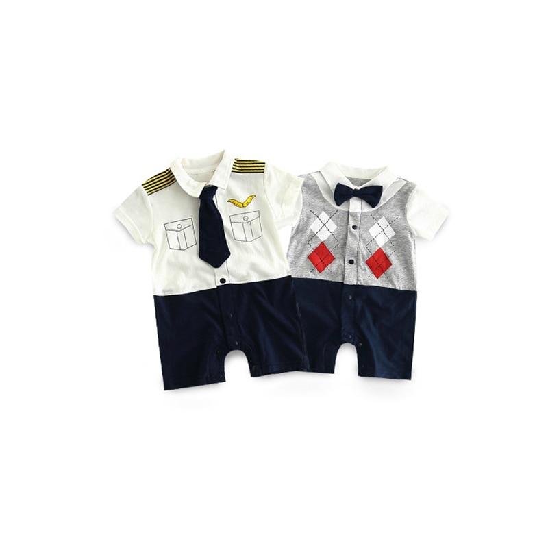 TONGMAO Brand Newborn Baby Boy Pajacyki dziecięce Gentleman ubrania - Odzież dla niemowląt - Zdjęcie 5