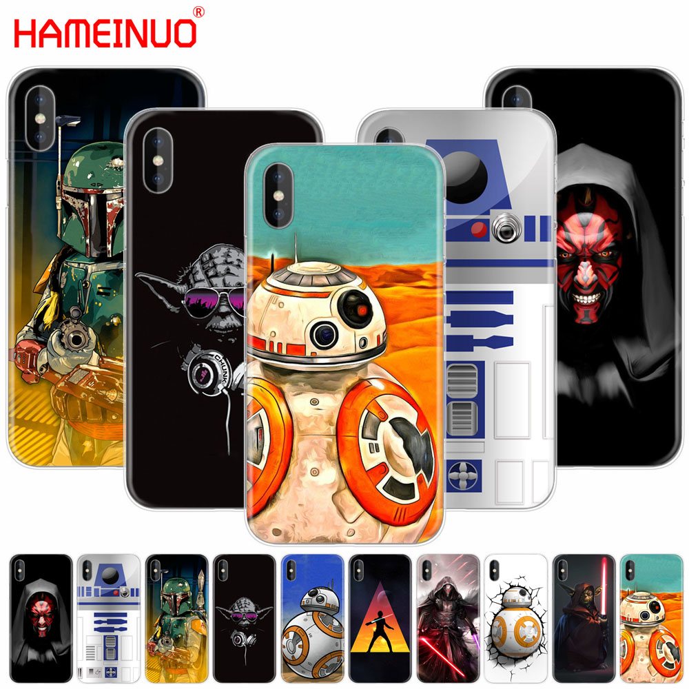 HAMEINUO Lightsaber Star Wars cell phone Cover case for iphone X 8 7 6 4 4s 5 5s SE 5c 6s plus