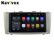 Navivox Android 7.1 Car DVD GPS Player For Toyota Camry 2008 2009 2010 2011 Car Multimedia Radio GPS Navigation Head Unit