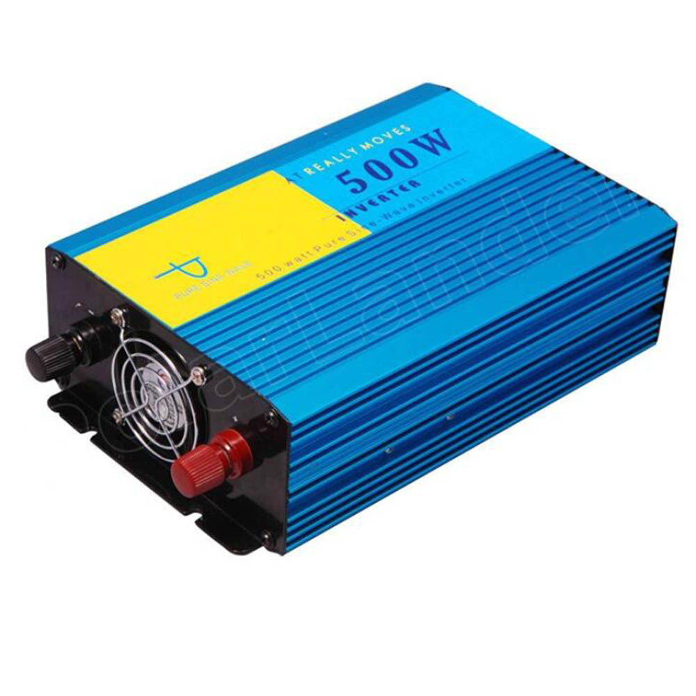 все цены на Pure Sine Wave 500W Car Inverter DC 24V to AC 220V 50HZ Power supply switch converter Vehicle Charger Transformer онлайн