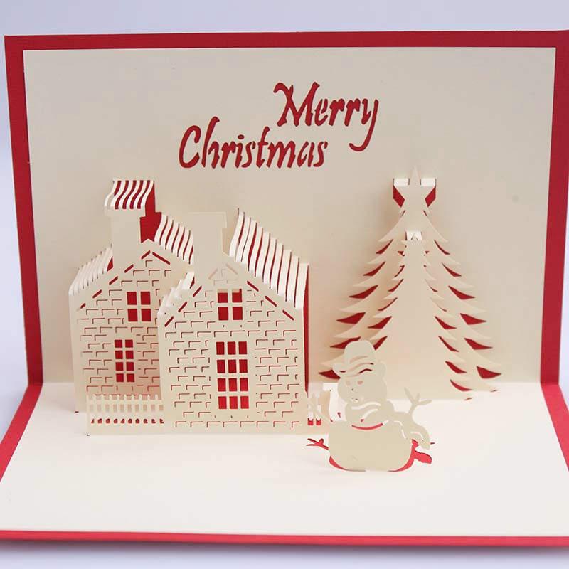 doreenbeads d tarjeta de navidad casa dulce regalo de navidad para los nios de la familia