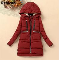 New 2018 Winter Coat Women Thickening Wadded Jacket Parkas Female Outerwear Casual Down Cotton Wadded Coat