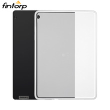 Waterproof Transparent Case For Lenovo Tab P10 M10 E10 E8 E7 Cases Soft TPU Cover TB-7104F TB-8304F TB-X104F TB-X605F TB-X705F