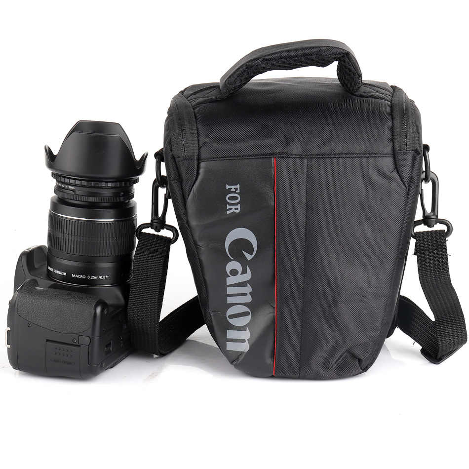 Waterproof DSLR Camera Bag For Canon 100D 200D 77D 7D 80D 800D 6D 70D 550D 500D 450D T6i T5i T6 T5 T4 Canon Camera Pouch