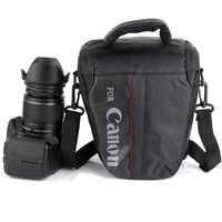 Cámara DSLR bolsa impermeable para Canon 100D 200D 77D 7D 80D 800D 6D 70D 550D 500D 450D T6i T5i T6 T5 T4 Canon cámara bolsa
