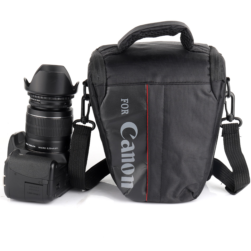 Waterproof DSLR Camera Bag For Canon 100D 200D 77D 7D 80D 800D 6D 70D 550D 500D 450D T6i T5i T6 T5 T4 Canon Camera Pouch