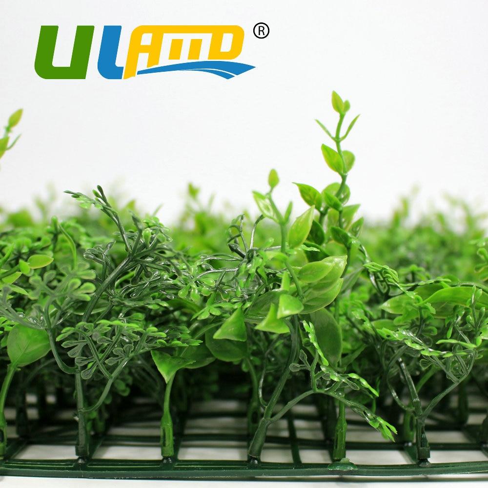 ULAND Dekorative Grünen Zaun UV Kunststoff Pflanzen Barriere