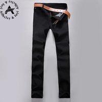 Warm Jeans New Jeans Men Fashion Summer Style Brand Clothing Slim Fit Denim Blue Jeans Casual