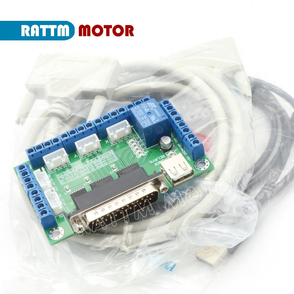 cnc breakout board promotion shop for promotional cnc breakout 5 axes cnc breakout board w optical coupler for mach3 stepper motor driver mach emc2 kcam4 from rattm motor