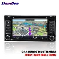 Liandlee для Toyota RAV4 RAV 4/Camry 2000 ~ 2006 android автомобиля радио cd dvd плеер gps Navi навигация Карты Камера OBD ТВ HD экран