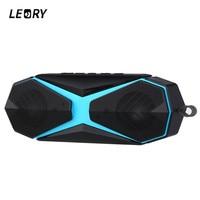 LEORY Portable Wireless Bluetooth Speaker V4 2 IPX7 Waterproof Outdoor Speaker 2400mah Large Power TF Speaker
