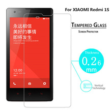 For Xiaomi Hongmi Redmi 1s 1 s Red Rice HD Explosion-proof Screen Protector Tempered Glass Film redmi