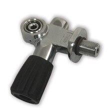 AC951 30MPa M18 * 1,5/плавание/дайвинг клапан трубка для плавания SCBA цилиндров/бака/оборудование клапан охотничьего оружия фридайвинга ACECARE