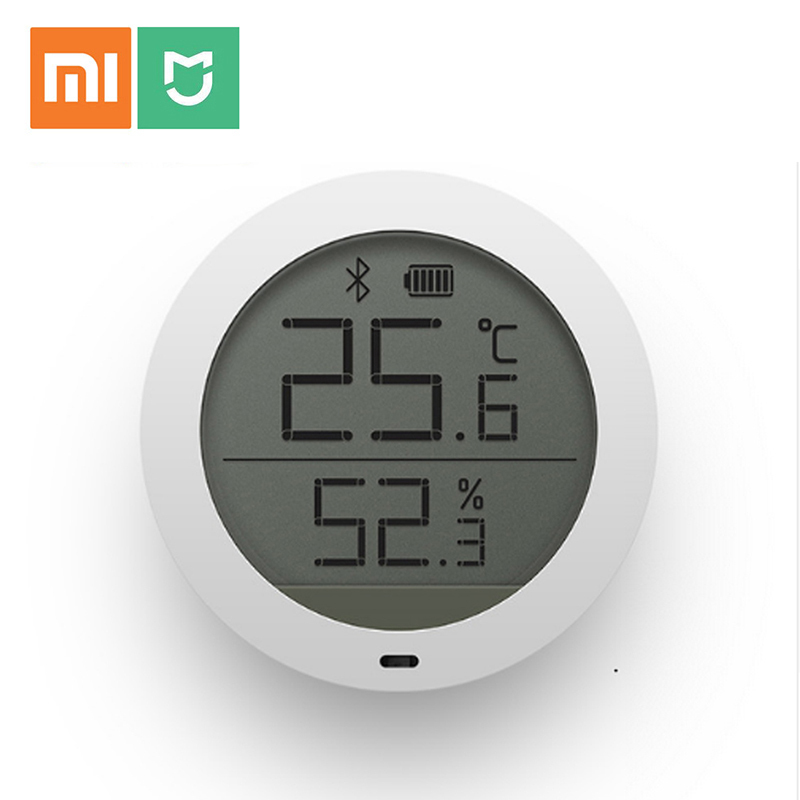 Original Xiaomi Mijia Bluetooth Hygrothermograph High Sensitive Lcd-bildschirm Hygrometer Thermometer Sensor Verwenden Mit Mijia App