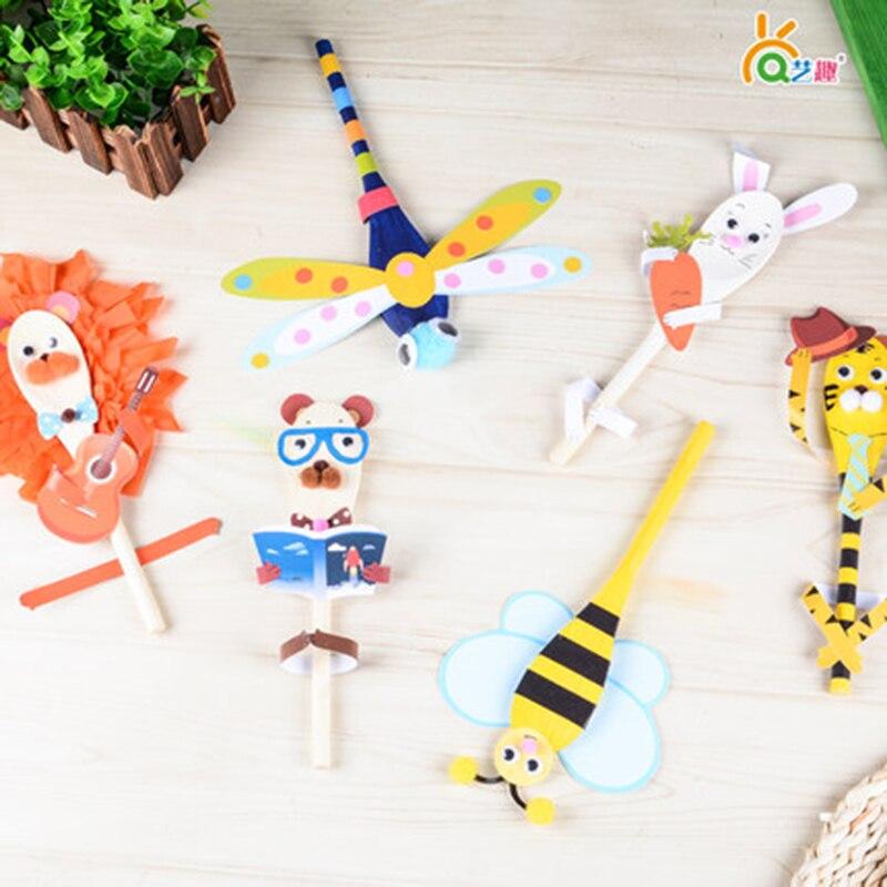 Art Educational Toys : Aliexpress buy pcs diy wooden spoon kit doll kids