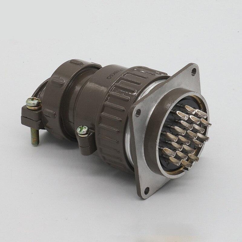 1 zestaw P48 lotnictwa okrągłe gniazdo wtykowe 20Pin 26Pin męskie i żeńskie okrągłe złącze średnica 48MM w Złącza od Lampy i oświetlenie na title=