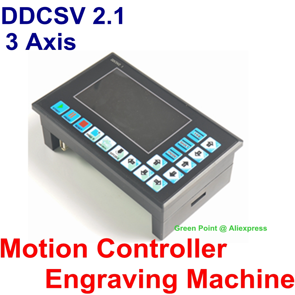 New DDCSV 2 1 500Hz CNC 3 Axis Motion Controller Engraving Machine Controller Motion Control System