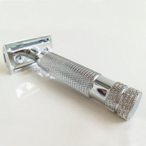 Image 4 - Double Edge Safety Razor Net Weight 124 Metal Stainless Barber Beard Shaving DE Blade Gift Box