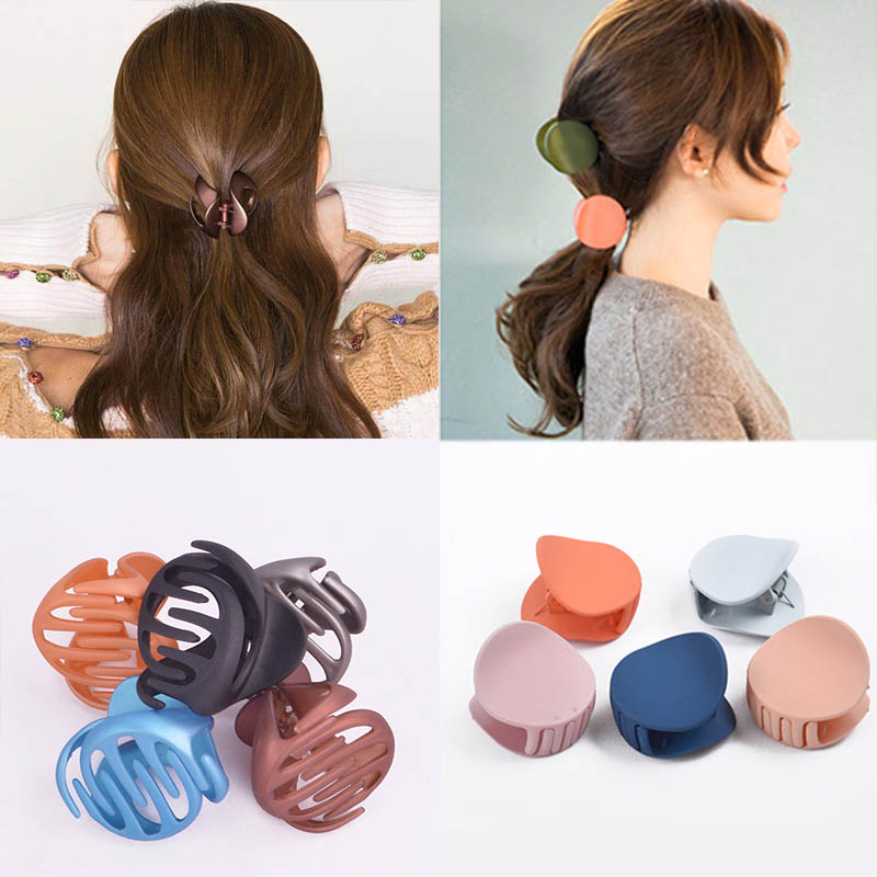 Korean Style Women Ladies Hair Clips For Girls Hair Claw Acrylic Barrettes Hair Crab Clamp Hair Accessories Vintage clip irls automatic pet feeder paws and pals