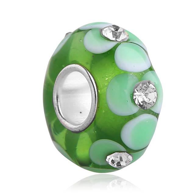 pandora charms murano verde
