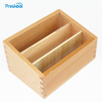 Montessori Kids Toy Baby Wooden Three Stairs Box Learning Educational Preschool Training Brinquedos Juguets
