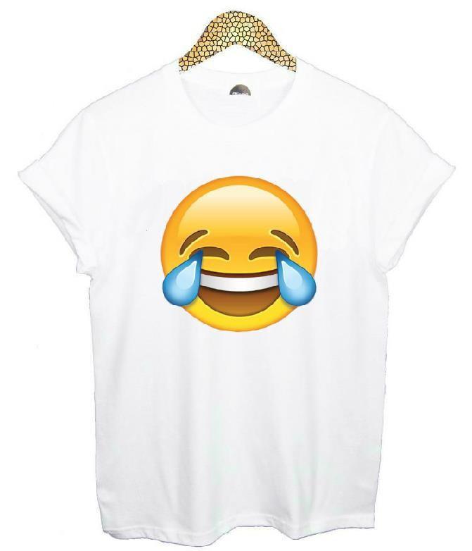 HTB1U9mjHVXXXXcvXXXXq6xXFXXXY - Emoji Smile Women T Shirt