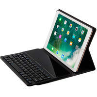 Luxury Case for iPad 9.7'' Ultra thin Tempered Glass Bluetooth Keyboard Case for iPad Pro 9.7 Air/ Air2 Smart Tablet Cover Stand