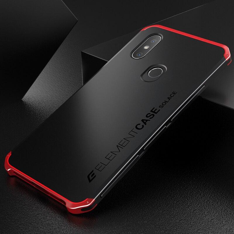 Luxury Shockproof Armor Element Metal Case For Xiaomi Redmi Note 5 Cases Hard Aluminium & PC Case Xiaomi Redmi Note 5 Pro Cover
